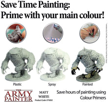 Load image into Gallery viewer, The Army Painter Primer Matt White 400ml Acrylic Spray for Miniature Painting