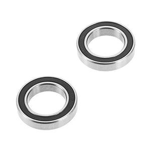 Traxxas 5106A Black Rubber Sealed Ball Bearings, 15x24x5mm (pair)