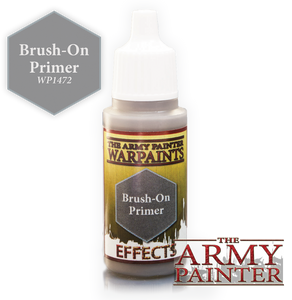 "The Army Painter Effects Warpaints 18ml Brush-On Primer ""Grey Variant"" WP1472"