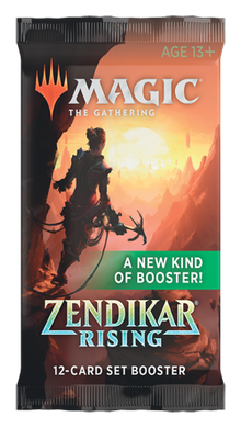 Magic The Gathering Zendikar Rising Set Booster Booster Pack