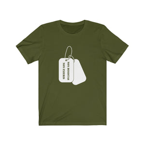 Short Sleeve T-Shirt - Dog Tags