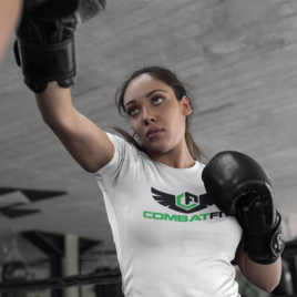 CombatFit Basic Training Tee Green Logo