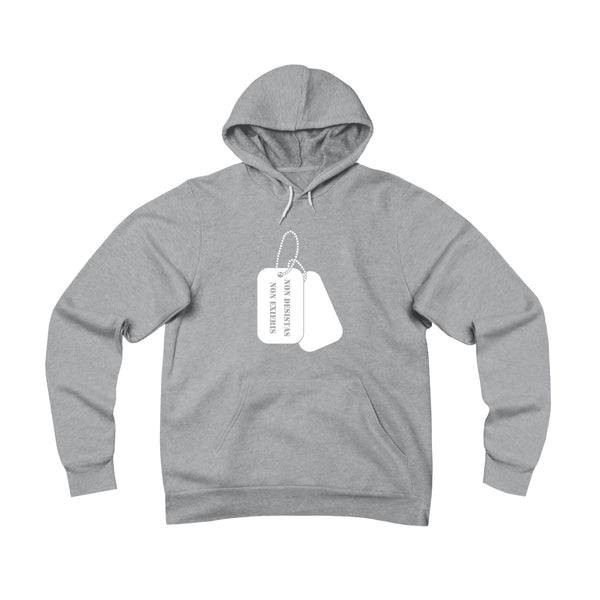 Unisex Fleece Pullover Hoodie - Dog Tags