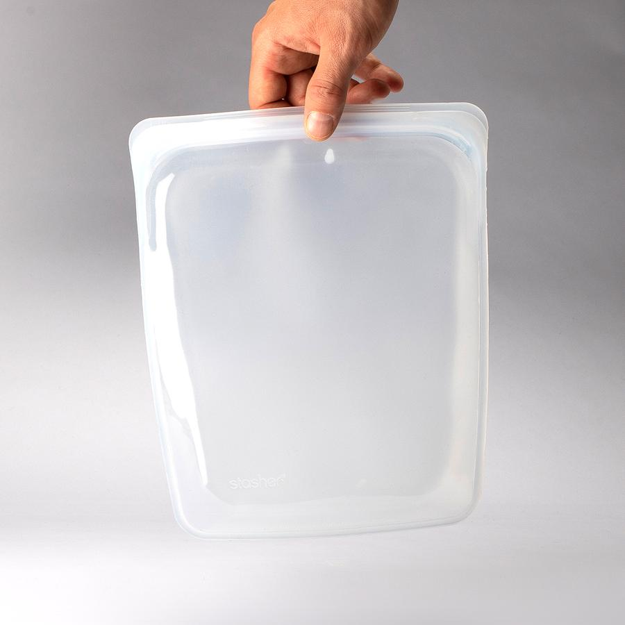 Stasher Bag Megasæt Clear (5-pak)