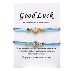 Good Luck Couple Bracelets - PuraVanity