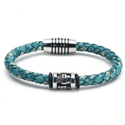 Pulseras Leather Bracelet - PuraVanity