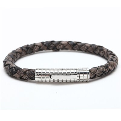 Erkek Leather Bracelet - PuraVanity
