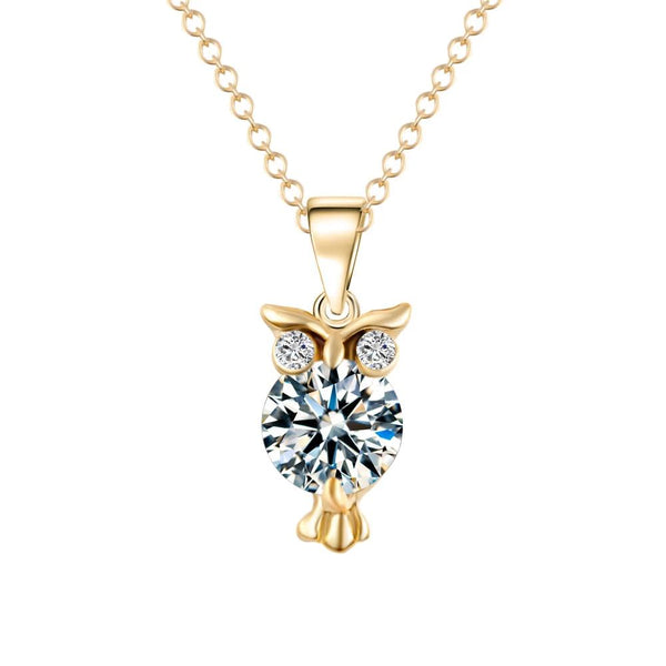 Owl Necklace - PuraVanity