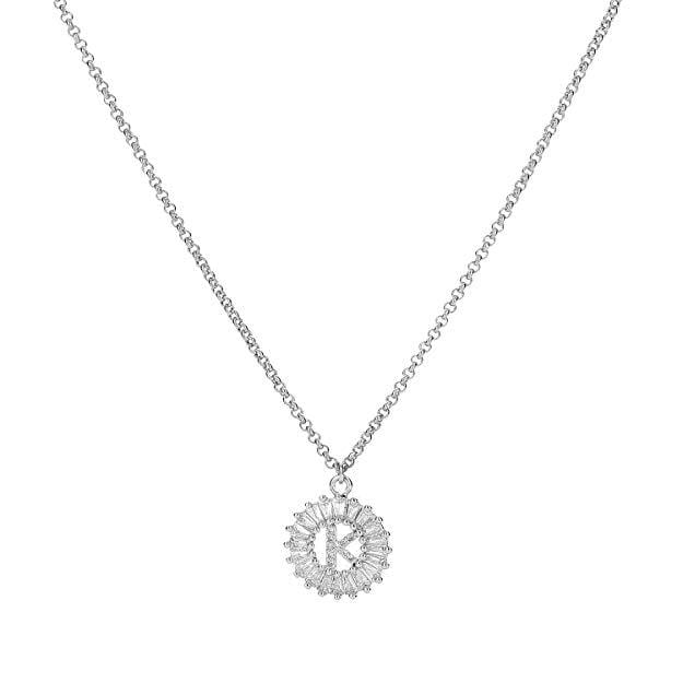 Initial Letter Necklace - PuraVanity