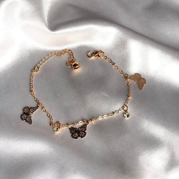 Enchanted Butterfly Anklet