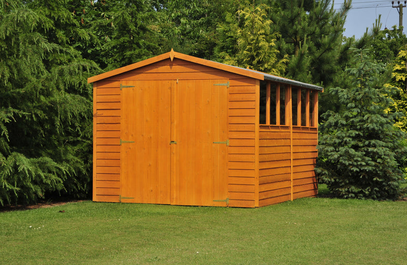 12'x8' Double Door Overlap Shed
