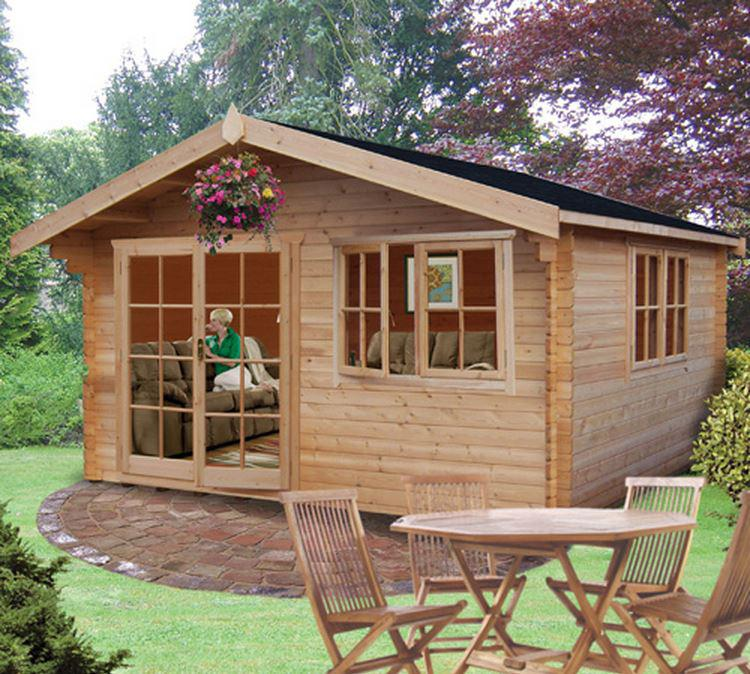 Abbeyford Log Cabin - Various Sizes Available