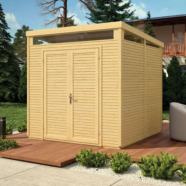 Security Pent Shed 8' x 8'