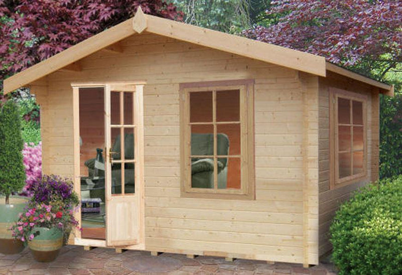 Bucknells Log Cabin in 28mm Logs - Various Sizes Available