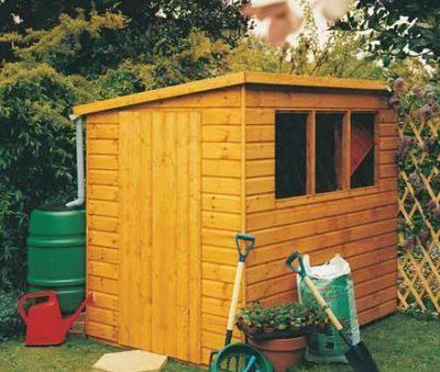 Caldey (6' x 4') Professional Storage Shed