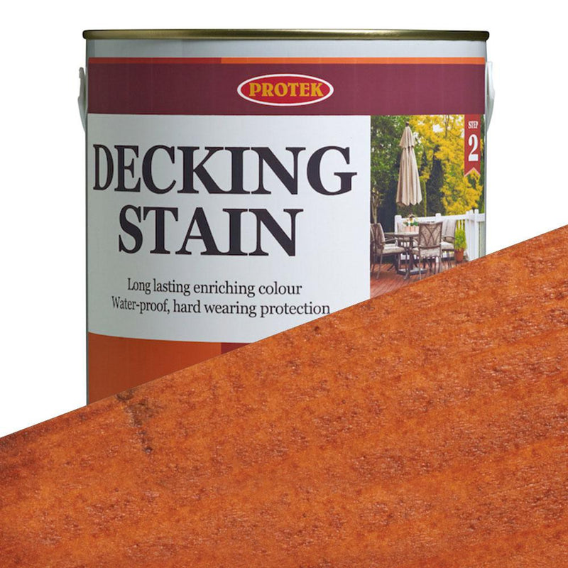Protek Decking Stain - Golden Cedar