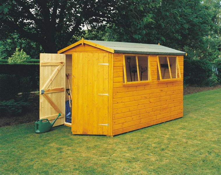 Goodwood Atlas (9' x 6') Professional Tongue and Groove Apex Shed