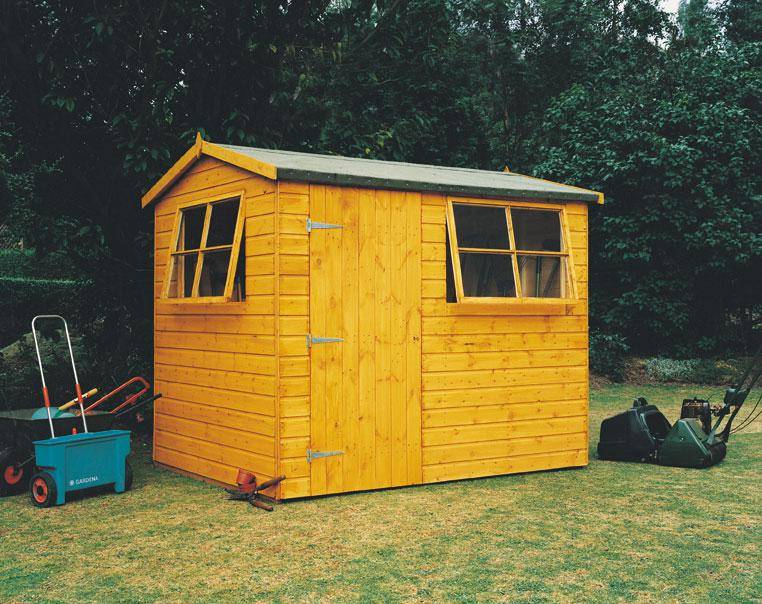 Goodwood Suffolk (8' x 6') Professional Tongue and Groove Shed