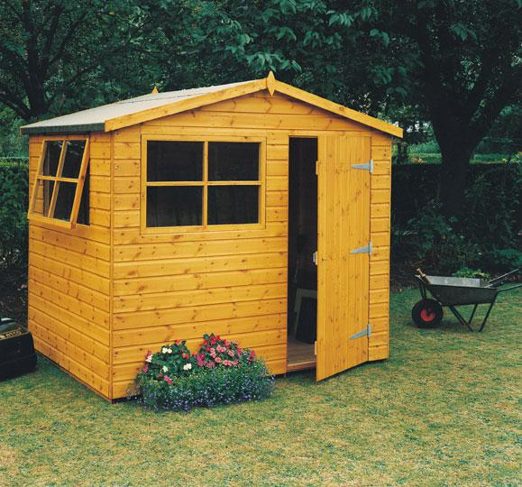 Goodwood Wroxham (8' x 6') Professional Tongue and Groove Shed