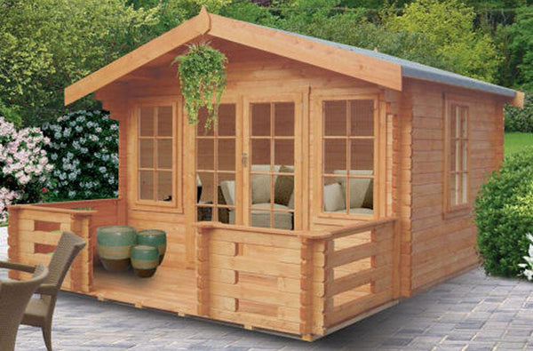 Grizedale Log Cabin - Various Sizes Available