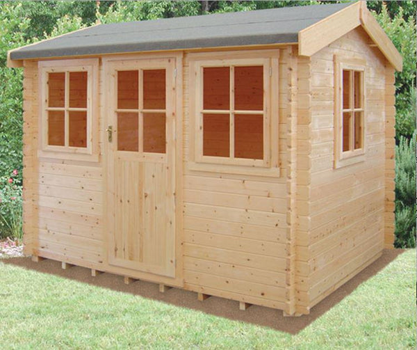 Hemsted Log Cabin - Various Sizes Available