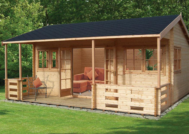 Kingswood Log Cabin 18G x 20 (5390G x 5900mm)