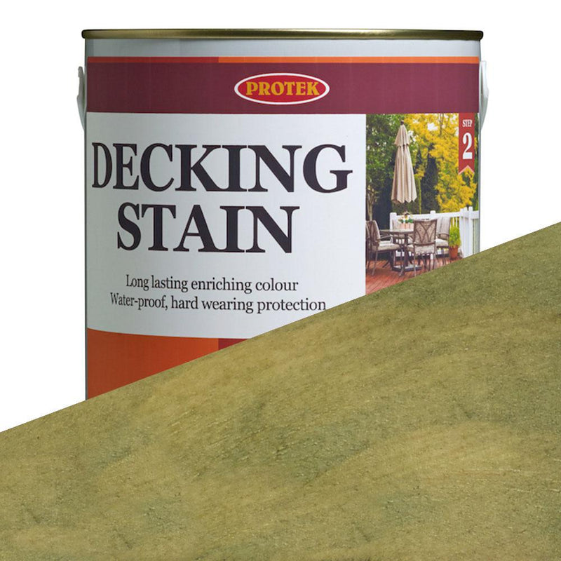 Protek Decking Stain - Light Green