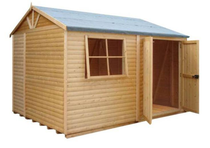 Goodwood Mammoth (10' x 8') Professional Tongue and Groove Apex Shed