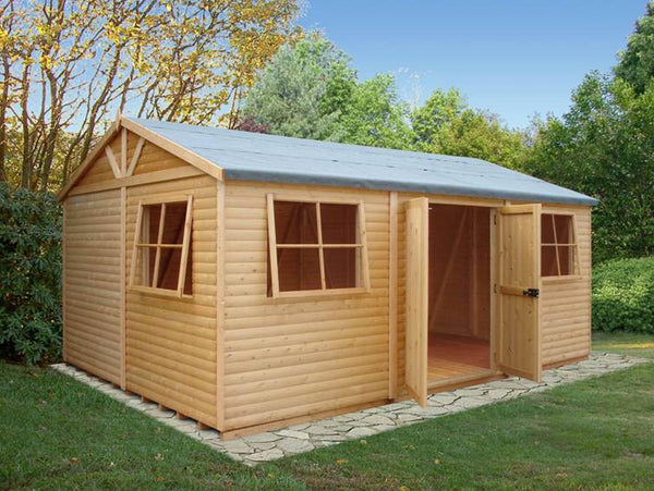 Goodwood Mammoth (10' x 15') Professional Tongue and Groove Apex Shed