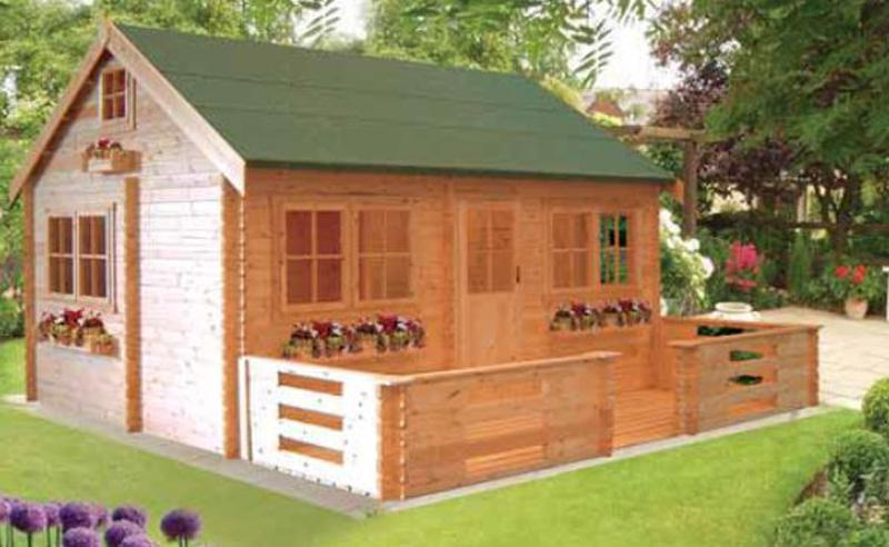 Pemberey Log Cabin 13G x 18 (3890G x 5490mm)