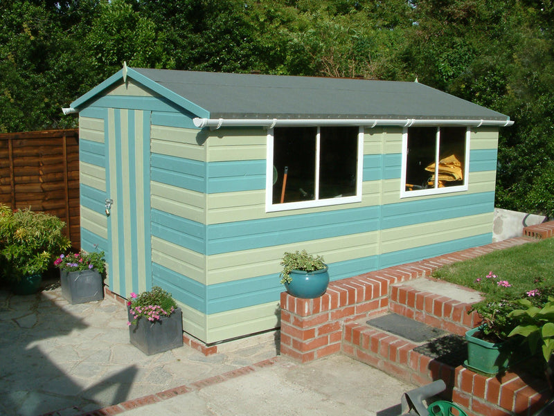 Lewis (10' x 8') Professional Storage Apex Shed