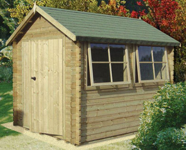 Solway Log Cabin - Various Sizes Available
