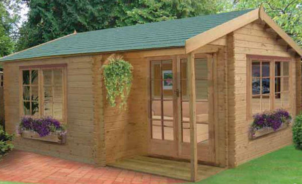 Twyford Log Cabin - Various Sizes Available