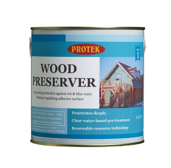 Protek Wood Preserver - Clear