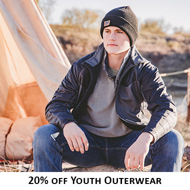 20% off Youth Outerwear - Black Friday Cyber Monday 2019