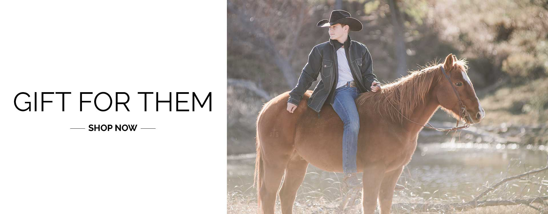 Gifts for Them Shop Now - 2020 STS Ranchwear Black Friday Cyber Monday Sales