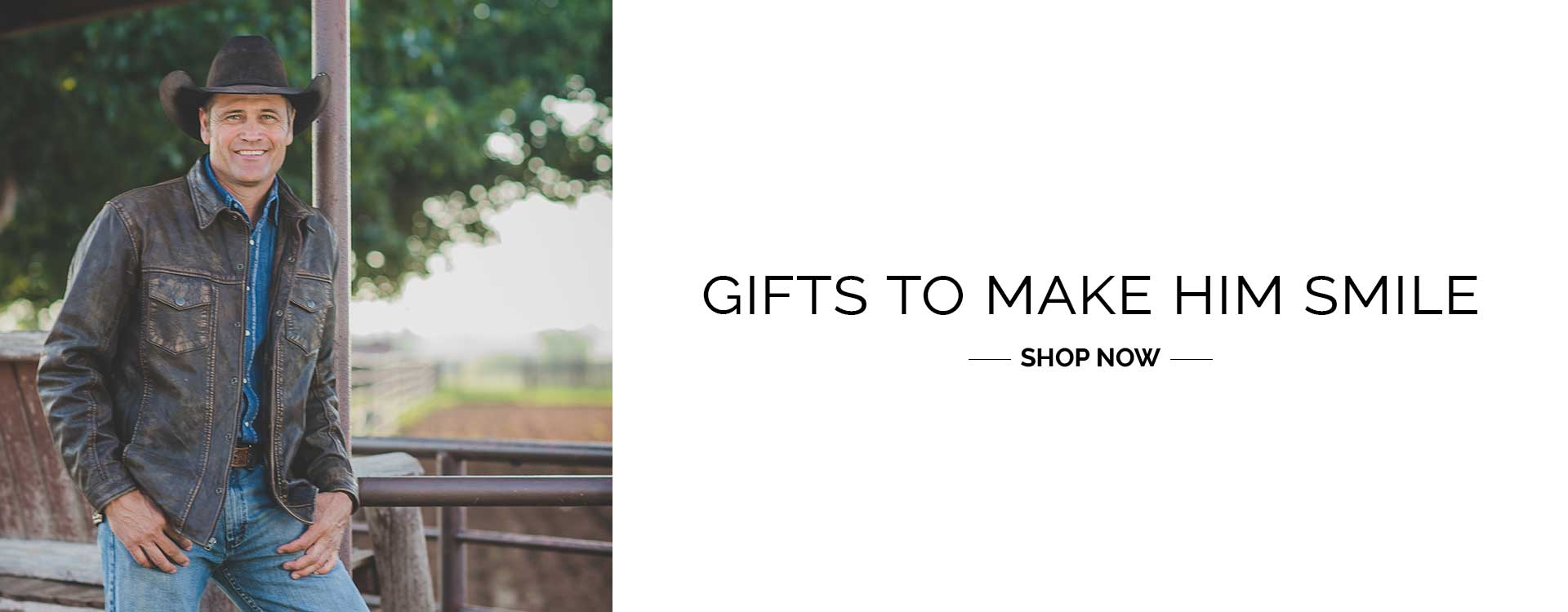 Gifts to make him smile. Shop now - STS Ranchwear 2020 Holiday Gift Guide