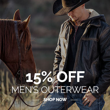 15% Off Men's Outerwear Shop Now - 2020 STS Ranchwear Black Friday Cyber Monday Sales