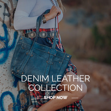 Denim Leather Collection Shop Now - STS Ranchwear
