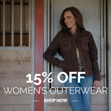 15% Off Women's Outerwear Shop Now - 2020 STS Ranchwear Black Friday Cyber Monday Sales