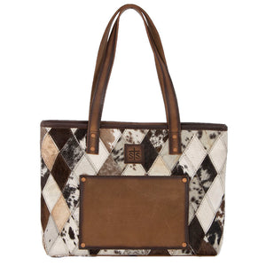 Diamond Cowhide Collection Basic Tote