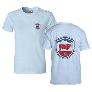 STS Men's Americana Crest Tee (Chambray)