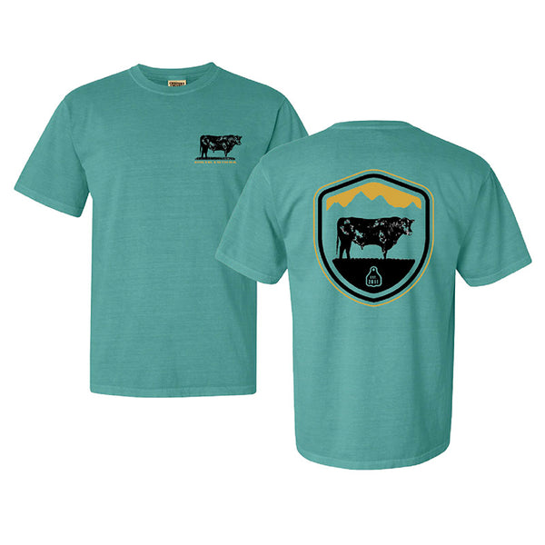 STS Original Crest Tee (Sea Foam)