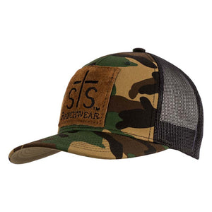 STS Patch Cap - Camo & Black
