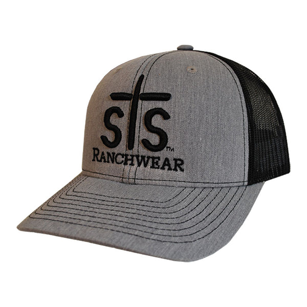 STS Puff Cap - Heather Gray & Black