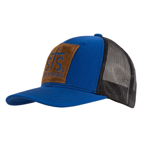 STS Patch Cap - Royal Blue & Black