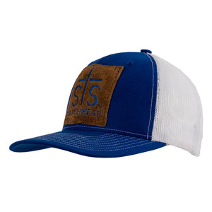 STS Patch Cap - Royal Blue & White