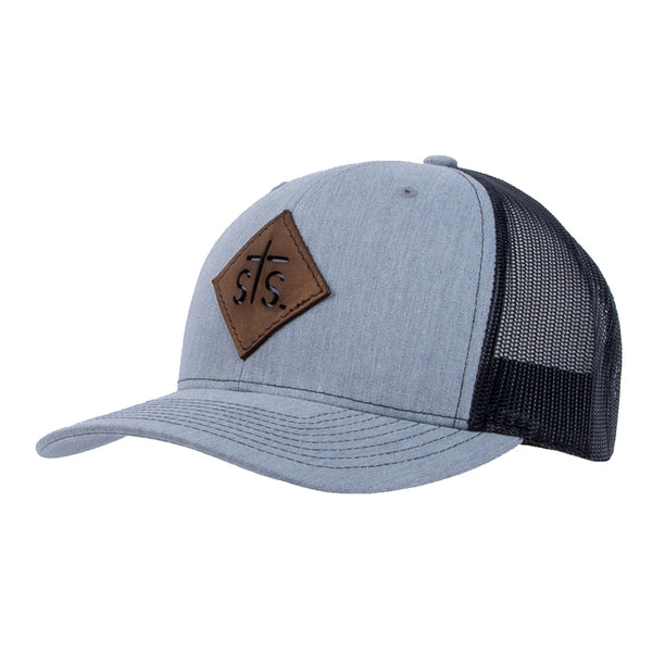 STS Cut Out Patch Cap - Gray & Black