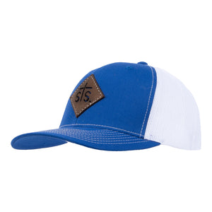 STS Cut Out Patch Hat - Royal & White