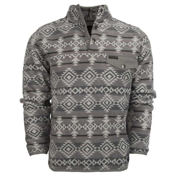 The Unisex Aztec Fleece Pullover
